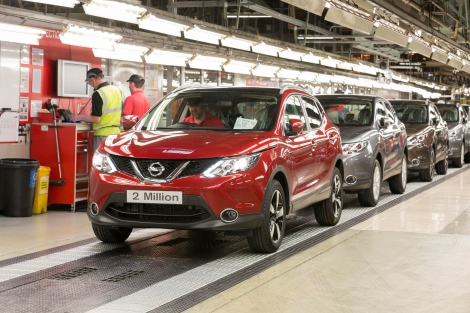 Beautiful The Nissan Qashqai Has Once Again Made Automotive History After Production  At Nissanu0027s Plant In Sunderland, UK Passed Two Million Units In Record Time.